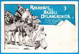RACAHOUT DES ARABES DELANGRENIER J R KOENIG CPA C.P.A. - SUR MON SITE Serbon63 DES MILLIERS D'ARTICLES SONT EN VENTES - Andere Zeichner