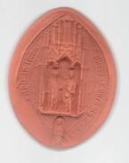 Reproduction D'un Sceau. Archives Générales Du Royaume. Belgique. Moulage. Empreinte - Autres Collections