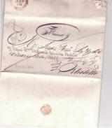 Lettera Da Grosseto A Orbetello 1844  Francasciupata Lateralmente   C584 - Italy