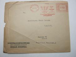 Firmen Freistempel , Meterstempel Auf Beleg Aus  Breslau Rosenthal 1933 - Deutschland