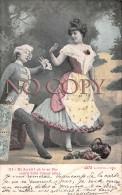 CPA Fantaisie - Couple - Scène D'amour - Théâtre - Ed. Alterocca Terni - Coppie