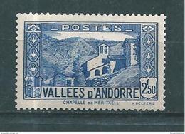 Andorre Francais Timbres De 1937/43  N°87  Neuf ** - Ungebraucht
