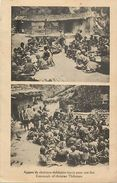 -ref V369- Tibet -chretiens Thibetains -christian Thibetans  - Carte Bon Etat -postcard In Good Condition   - - Tibet