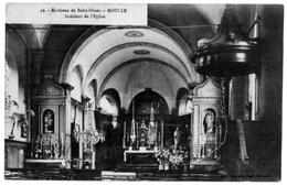 Moulle Pas De Calais Intérieur église 1914 état Superbe - France