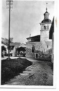 MENTHON SAINT BERNARD   PLACE EGLISE ET LA TOURNETTE  FACON PHOTO  Tache Sur Cote  DEPT 74 - Otros Municipios