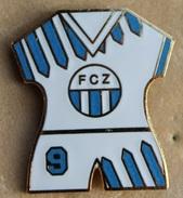 MAILLOT DE FOOTBALL N°9 - FC ZURICH - SUISSE - SWISS - SCHWEIZ - SWITZERLAND - SOCCER - FOOT -   (18) - Football