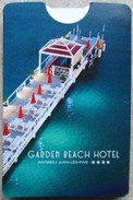 CARTE PUBLICITE GARDEN BEACH HOTEL ANTIBES-JUAN-LES-PINS 2017 - Hotel Labels