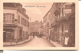 MONTLUCON - Rue Des Forges - Montlucon