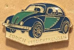 VW COCCINELLE - VOLKSWAGEN - VERTE & BLEUE - ZÜRICH VERSICHERUNGEN - SUISSE - SCHWEIZ - SWITZERLAND  -      (18) - Volkswagen