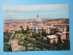 Vaticano - Roma - La Cupola Di S San Pietro Dai Giardini Vaticani- Viaggiata 1969 - Vaticano
