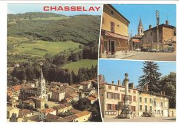Chasselay - Carte Multivues - Classic Cars - Citroën 2CV - France