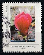 Timbre Personnalisé : Magnolia Lilliflora O'Neil - France