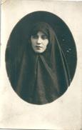 Bulgarie Jeune Femme Voilée 1927 Sofia - Anonyme Personen