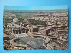 Vaticano - Roma - Basilica Di S San Pietro - Veduta Aerea - Viaggiata 1968 - Vatican