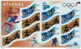 "FR Bloc YT 73 "" Jeux Olympiques D'Athènes "" 2004 Neuf** - Mint/Hinged"