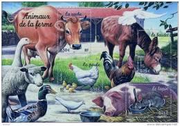 """FR Bloc YT 69 """" Les Animaux De La Ferme """" 2004 Neuf** - Mint/Hinged"""