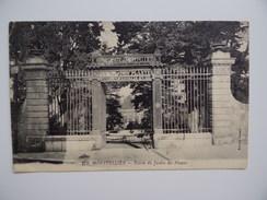 34 MONTPELLIER Entrée Du Jardin Des Plantes Université Fondé Par Henri IV En 1593 - Montpellier