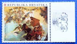 CROATIA MNH STAMP 700 ANNIVERSARY OF THE SHRINE OF OUR LADY IN LORETO 1994 - Croatia