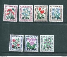 Timbre  De C.F.A   Taxes  De 1964/71  N°48 A 54 Neuf ** Sans Charnière - Reunion Island (1852-1975)