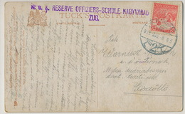 K.u.K. Reserve Offiziers - Schule Nagyvarad Zug Oradea Military Cancel Tuck Oilette Berlin 1223 - Roumanie