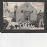 66  MONTLOUIS -  La Place L'église Et Monument Dagobert - Other Municipalities