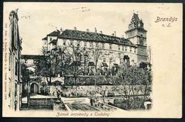Brandys Nad Labem, 1907, Stara Boleslav, Zamek Arcivevody Z Toskany, Praha-vychod, Verlag Brazda - Czech Republic