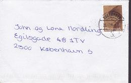 Denmark Brotype Vd KØBENHAVN S.*5* 1996 Cover Brief Europa CEPT Karen Blixen Stamp - Dänemark