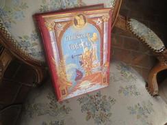 Christophe Colomb - Mgr Ricard - Illustrations Par BALDO - Gravure  De MEAULLE - Couverture A.SOUZE - TRANCHES DOREES - Libros, Revistas, Cómics