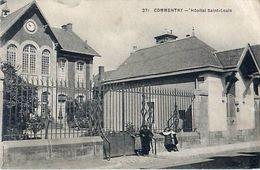 Cpa COMMENTRY 03 Hôpital Saint Louis ( Maison St Louis 16 Rue Dr Léon Thivrier ) - Commentry