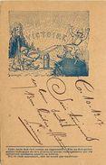 - Ref-914- Guerre 1914-18 - Emprunt Victoire - Carte Franchise Militaire - Illustrateur Lechaudel - Illustrateurs - - Guerre 1914-18