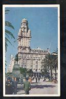 B3647 MONTEVIDEO - PALACIO SALVO EN PLAZA INDEPENDENCIA - Uruguay