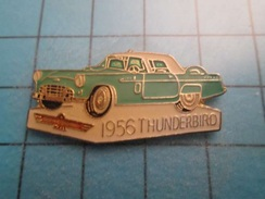 Pin312b Pin's Pins : Rare Et Belle Qualité :  AUTOMOBILE FORD THUNDERBIRD 1956  , Marquage Au Dos : - ----- - - Ford