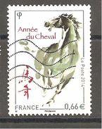 FRANCE 2014 - Oblitéré - Y.T.N° 4835 - Année Du Cheval - Frankreich