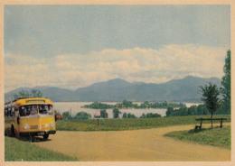Mercedes Postbus,Chiemsee Mit Fraueninsel,ungelaufen - Bus & Autocars