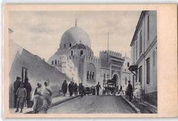 """06627 """"ALGERI - CROCIERA M.N. -VULCANIA - ITALIA FLOTTE RIUNITE - COSULICH S.T.N. 1934 -XII""""ANIMATA. CART NON SPED - Algeri"""