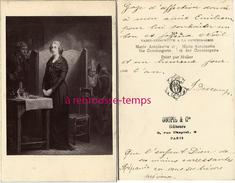 CDV Historique-Marie-Antoinette A La Conciergerie-photo Goupil à Paris-envoyé Par Jeanne DESCAMPS V1882 - Photos