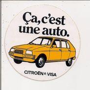Autocollant  -      CITROËN VISA   Ca, C'est Une AUTO - Stickers
