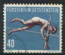 LIECHTENSTEIN   Saut à La Perche   N°  Y&T  306  (o) - Liechtenstein