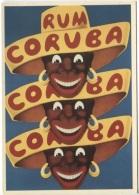 CPM - CORUBA RUM - 1944 - Bibliothèque Forney - Edition Nugeron - Werbepostkarten