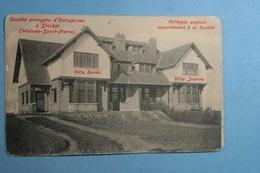 Société Anonyme D'Entreprises à Stockel (Woluwe-Saint-Pierre) (publicité Au Verso) - Woluwe-St-Pierre - St-Pieters-Woluwe