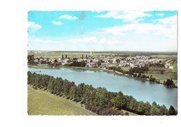 Cpm - Poncey-les-Athée - Vue Générale, La Saône - Côte D'Or - 1965 - Autres Communes