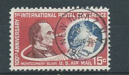 Verenigde Staten   Luchtpost   Y / T  62      (O) - 3a. 1961-… Usati