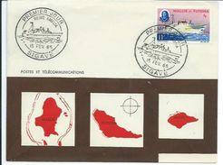 """ZWFFDC1965 - WALLIS ET FUTUNA - Enveloppe FDC PREMIER JOUR 1965 - Bateau """"Reine Amélia"""" En Parfait état - Wallis And Futuna"""