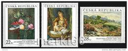 Czech Republic - 2006 - Art On Stamps - Mint Stamp Set - Ungebraucht