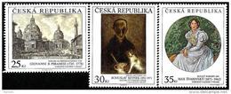 Czech Republic - 2013 - Art On Stamps - Mint Stamp Set - Tsjechië