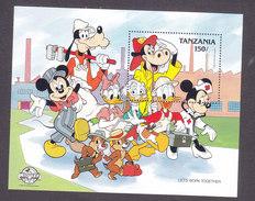 Tanzania, Scott #432, Mint Never Hinged, Disney Characters, Issued 1988 - Tanzania (1964-...)