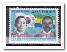 Zuid Korea 1975, Postfris MNH, Visit President Of Gabun - Korea (Zuid)