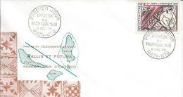 ZWFFDCPA029 - R A R E - WALLIS ET FUTUNA - Enveloppe FDC Premier Jour 1962 - N° PA 29 (YT) - SPORT Jeux Pacifique Sud - Wallis And Futuna