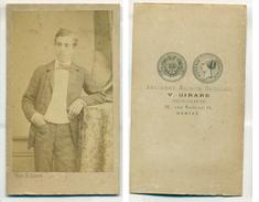 CDV V Girard à Nantes Circa 1860-1870 - Personnes Anonymes