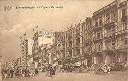 CPA - BLANKENBERGHE - LA DIGUE - N°71 EDITIONS ALBERT -OBLIT. BLANKENBERGHE 22.V.1933 - Blankenberge